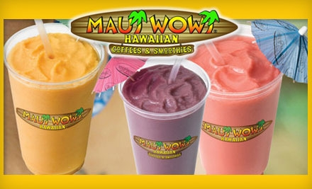 maui wowi smoothie catering
